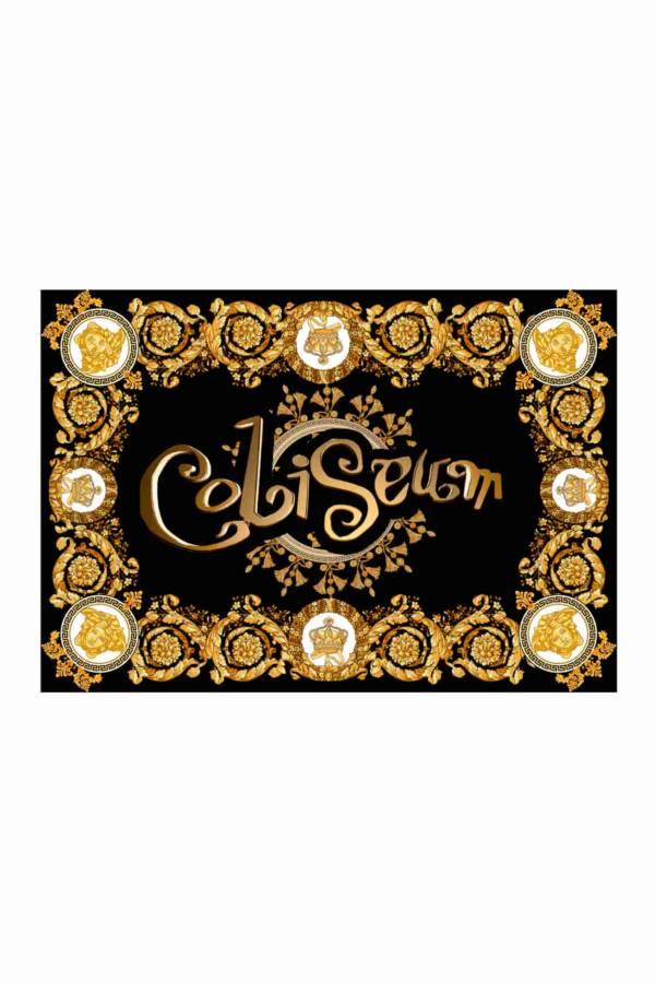Diseño Bandera Coliseu Versace dorado