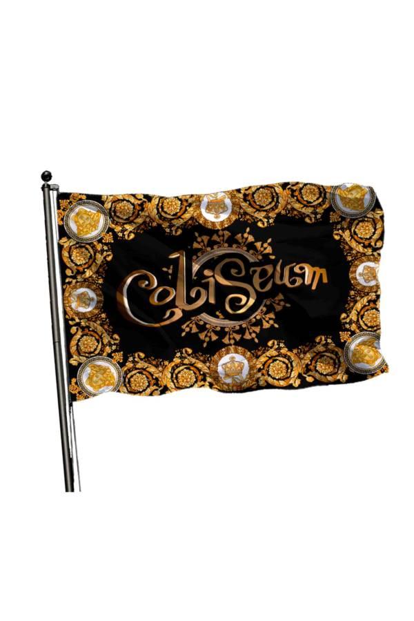 Bandera Coliseu Versace dorado