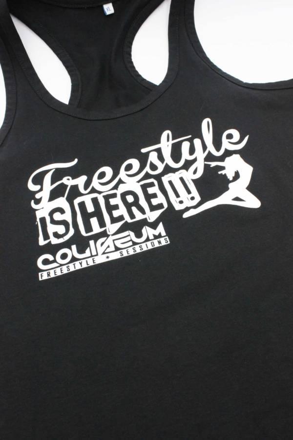 Camiseta chica nadadora Freestyle