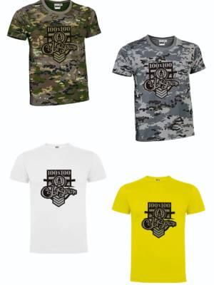 Camisetas 100 x 100 Coliseum