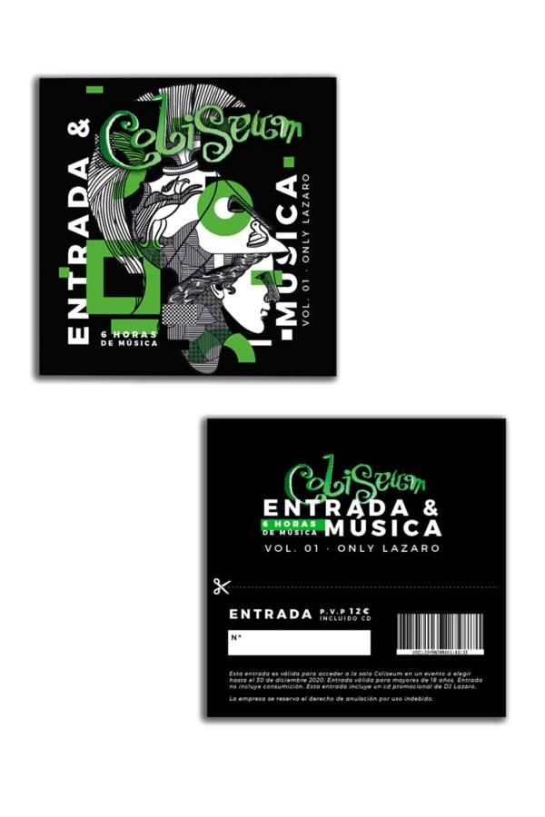 ENTRADA & MUSICA - ONLY LAZARO