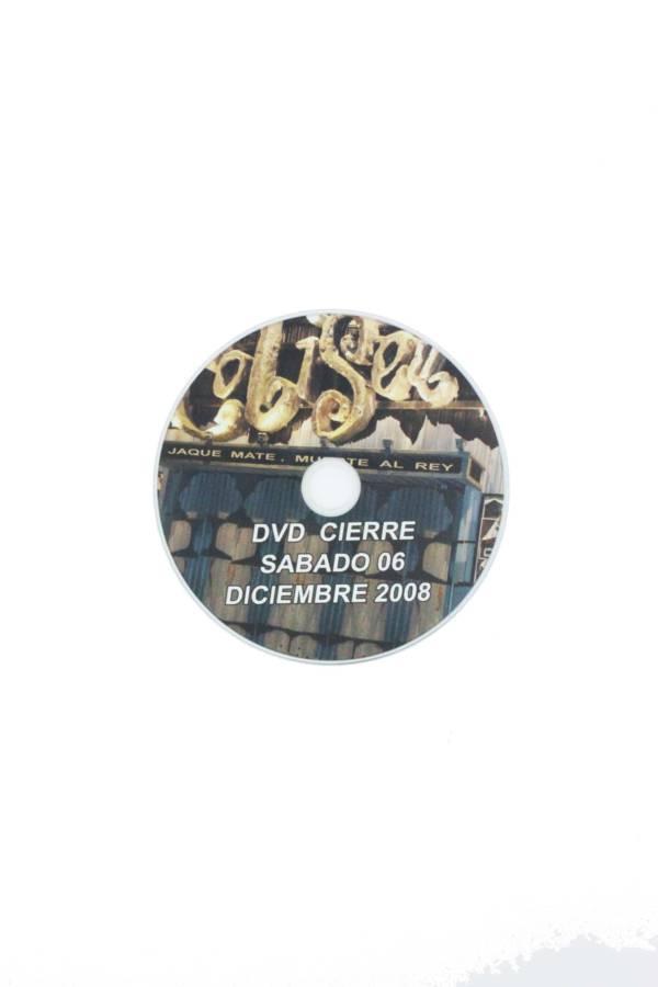 DVD CIERRE COLISEUM